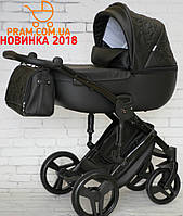 Универсальная коляска 2 в 1 Junama Enzo Черный, фото 1