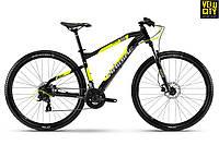 "Велосипед Haibike SeetHardNine 2.029"" 2018 черно-желтый"