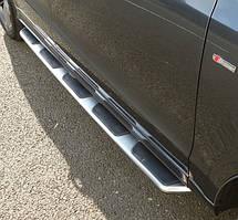 Подножки Оригинал на Audi Q3 (с 2011--) Ауди кью 3 PRS