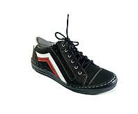 Красивые спортивные туфли с замком. Размер 34