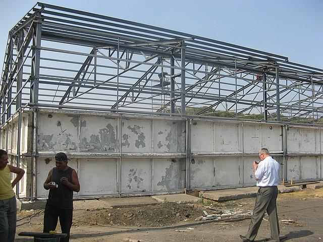 Строительство складов в Житомире