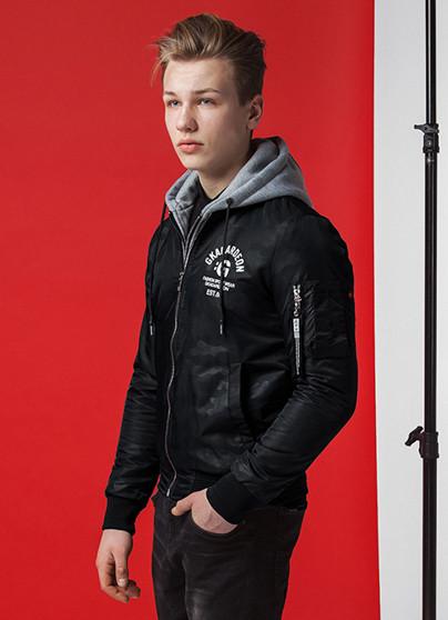 Демисезонная мужская куртка KIRO TOKAO (р. 46-56) арт. 318G