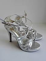 Женские туфли, босоножки летние  на высоком каблуке 36 размера