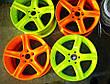 Acmelight Fluorescent paint for Metal - флуоресцентная краска для металла и дисков 0,75л, 1,5л, фото 5
