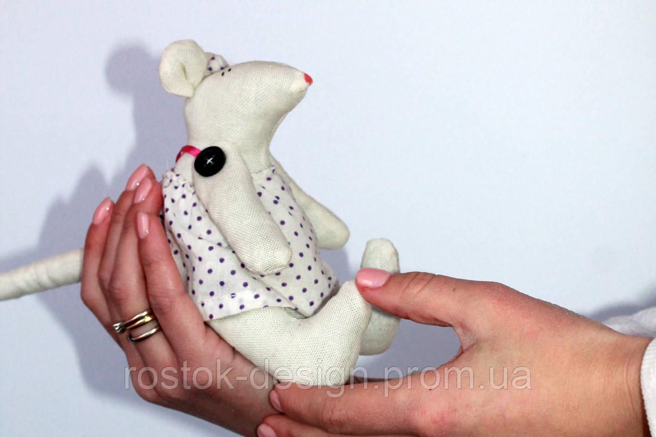 Мягкая игрушка Крысенок девочка