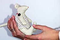 Мягкая игрушка Крысенок девочка, фото 1
