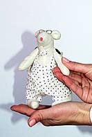 Мягкая игрушка Крысенок в очках