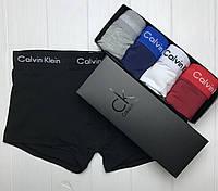 Подарочный Набор Мужского Нижнего Белья Calvin Klein 365 Трусы Мужские Боксеры Шорты Хлопок 5 Цветов На Выбор