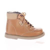 Зимняя ортопедическая обувь для детей Rena 933-32, Медовые