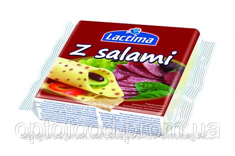 Вкуснейшие сырки для тоста, и бутербродов Lactimma salami 130 g