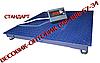 Весы платформенные ЗЕВС Стандарт ВПЕ-5000-4 (H1212) 1,2х1,2м 5000кг