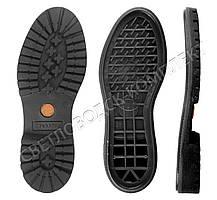 Подошва для обуви 4534, цв.черный с цветной вставкой