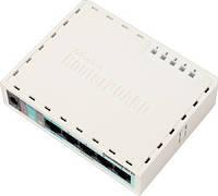 MIKROTIK RouterBOARD RB951-2n +Level 4 (32MB RAM, 5x LAN)