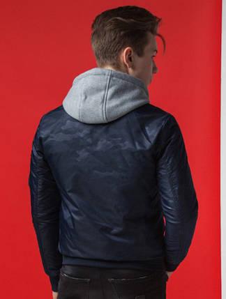 Синяя демисезонная мужская куртка KIRO TOKAO (р. 46-56) арт. 318Н, фото 2