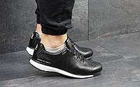 Мужские кроссовки кросівки Adidas Porsche Design Черно белый