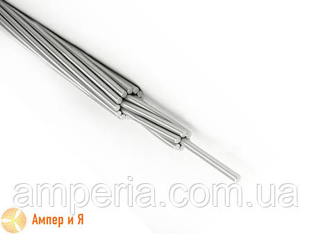 Провод алюминиевый неизолированный (голый) А-50 ГОСТ (ДСТУ), фото 2