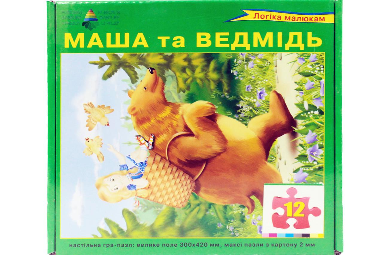 Настольная игра-пазл. Маша и медведь