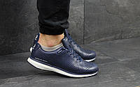 Мужские кроссовки кросівки Adidas Porsche Design Темно синий