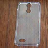 Силиконовый чехол мягкий прозрачный для смартфона Oukitel C8