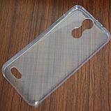 Силиконовый чехол мягкий прозрачный для смартфона Oukitel C8, фото 2