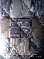 Одеяло хлопковое с  холлофайбером квадраты - Ковдра бавовняна з холлофайбером