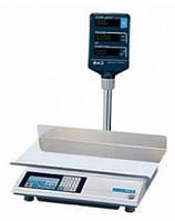 Электронные весы торговые CAS AP 15 M LT