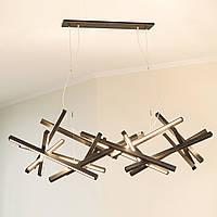 Люстра из дерева, ручная работа, освещение, дизайн, светильник потолочный, светодиодный светильник - Infinity
