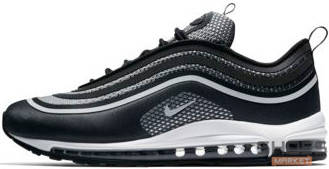 Мужские кроссовки Nike Air Max 97 ULTRA Black, Найк Аир Макс 97, фото 2