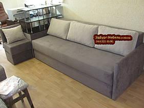 Угловой диван с полками ткань антикоготь