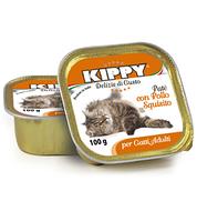Консервы (Киппи) KIPPY Cat КУРИЦА 100г - паштет для кошек