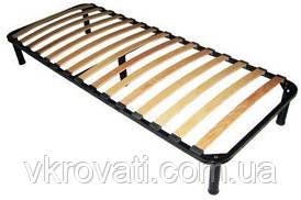 Каркас кровати 100*190 стандартный с ножками