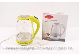 Стеклянный электрический чайник Wimpex WX-820