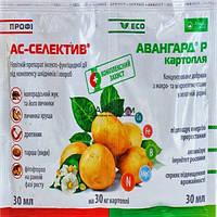 Протравитель инсекто-фунгицидный АС-СЕЛЕКТИВ ПРОФИ + Авангард Картофель (30 + 30 мл) — картофель, рассада 2,3