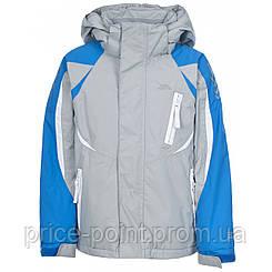 Лыжная куртка Trespass для мальчика 9-10 лет, цвет серый