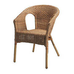 Кресло, ротанг, бамбук IKEA AGEN 500.583.76