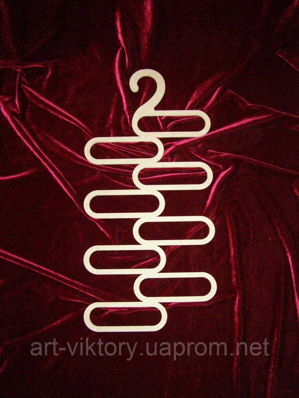 Вешалка для галстуков и шарфов (27 х 57 см), декор