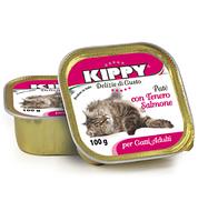 Консервы (Киппи) KIPPY Cat ЛОСОСЬ 100г - паштет для кошек
