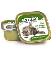 Консервы (Киппи) KIPPY Cat БЕЛОЕ МЯСО 100г - паштет для кошек