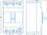 Автоматичний вимикач ВА 77-1-63 50А, фото 2