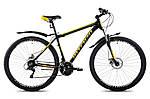 """Горный велосипед INTENZO FLAGMAN 29"""", 21"""" Черный/Желтый"""