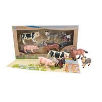 Обучающий игровой набор Wenno  Животные Ферма S1 с QR-картой (WEU1705)