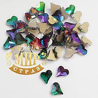 Стразы для инкрустации сердце 6mm, цвет Lilac Zircon,*1шт