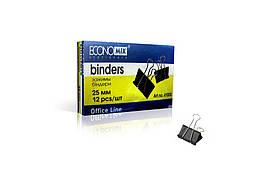 Биндеры для бумаги 25 мм Economix, 12 шт.