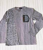 Реглан для мальчика (трикотаж, серый), фото 1