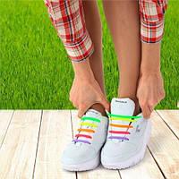 Шнурки для обуви силиконовые