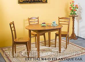 Стол обеденный EXT 3242 W4  орех античный, фото 3