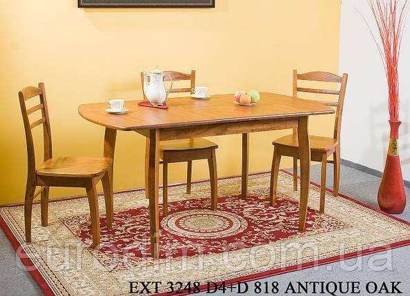 Стол EXT 3248R D4  орех античный, фото 2