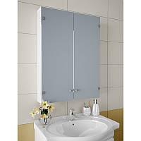 Зеркальный шкафчик для ванной без подсветки