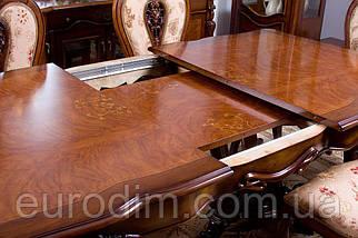 Стол обеденный 8670 орех, фото 2