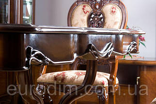 Стол обеденный 8670 орех, фото 3
